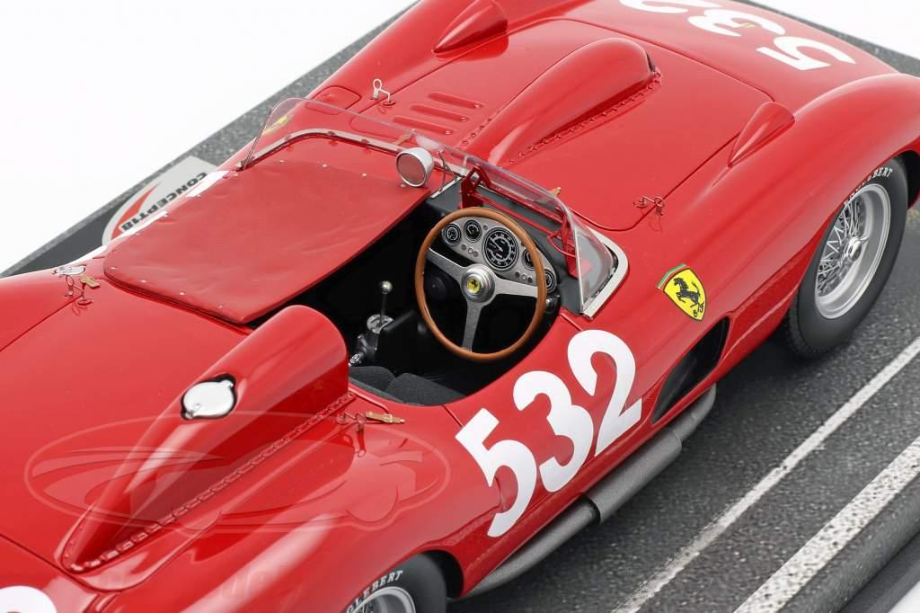Ferrari 315 Sport #532 2nd Mille Miglia 1957 Graf Berghe von Trips 1:18 BBR