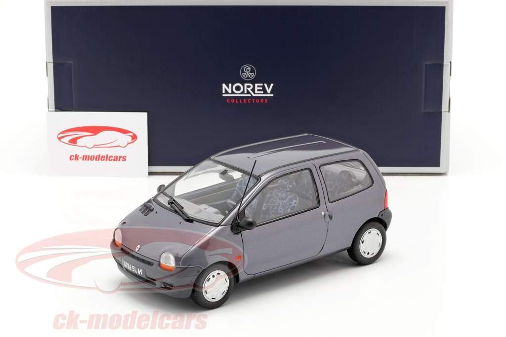 Renault Twingo ano 1995 cinzento 1:18 Norev