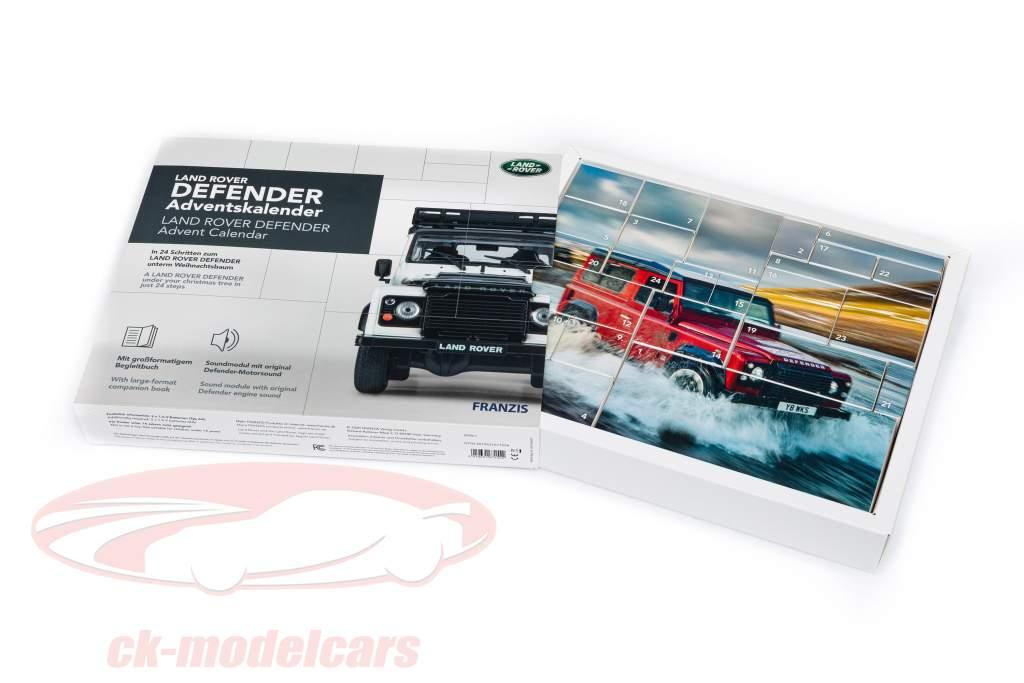 Land Rover Defender Advent kalender 2020: Land Rover Defender Wit 1:43 Franzis