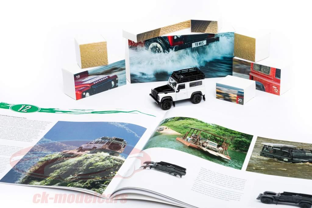 Land Rover Defender Calendario de adviento 2020: Land Rover Defender Blanco 1:43 Franzis