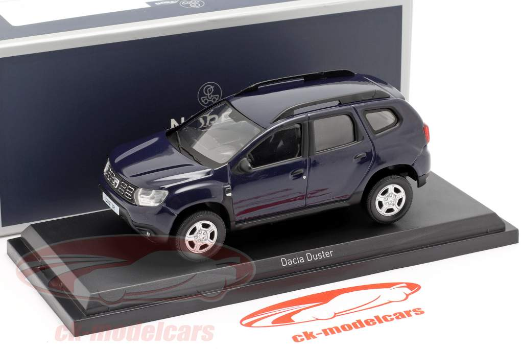 Dacia Duster year 2018 navy blue 1:43 Norev