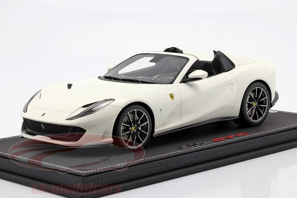 Ferrari 812 GTS year 2019 avus white 1:18 BBR
