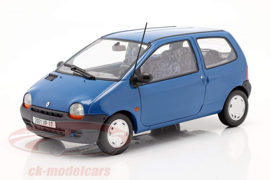 Renault Twingo Baujahr 1995 cyan blau 1:18 Norev
