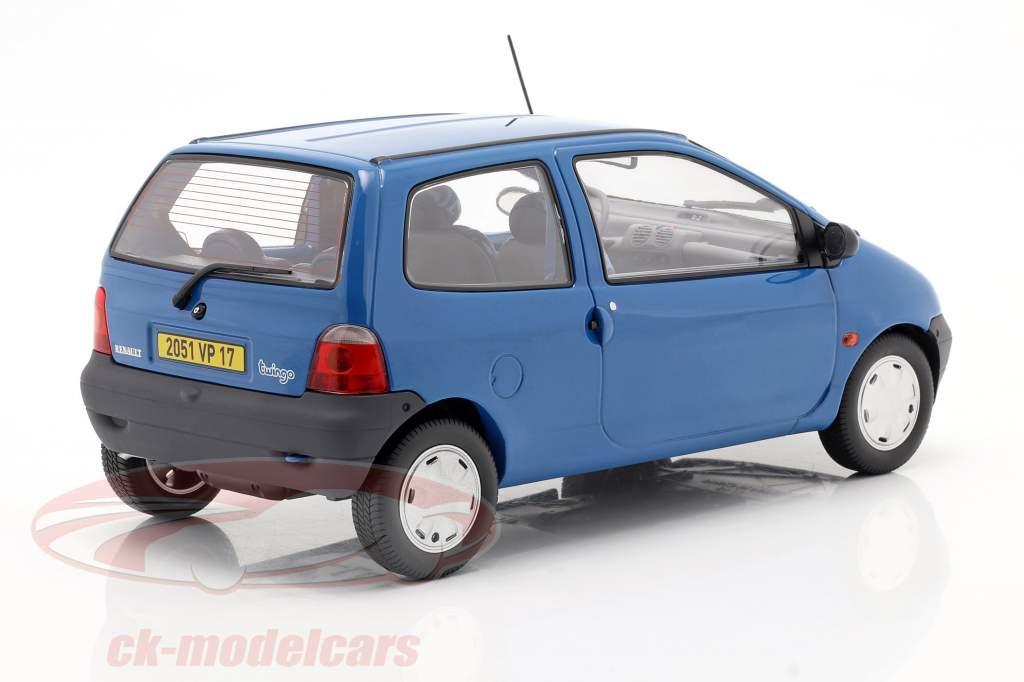 Renault Twingo år 1995 cyan blå 1:18 Norev