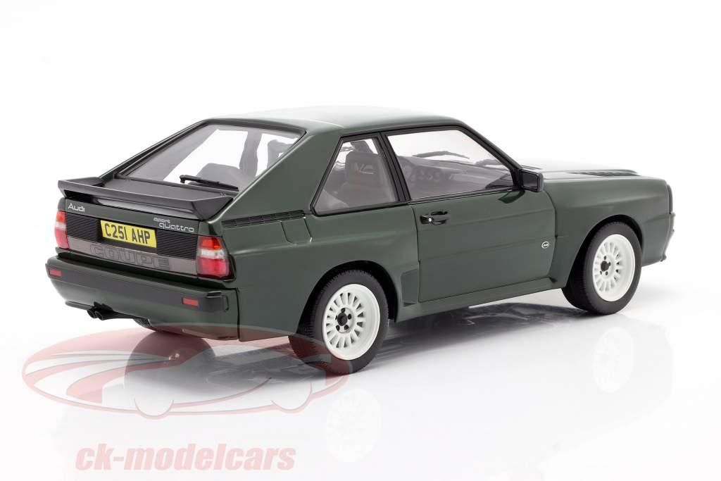 Audi Sport Quattro Ano de construção 1985 verde escuro 1:18 Norev
