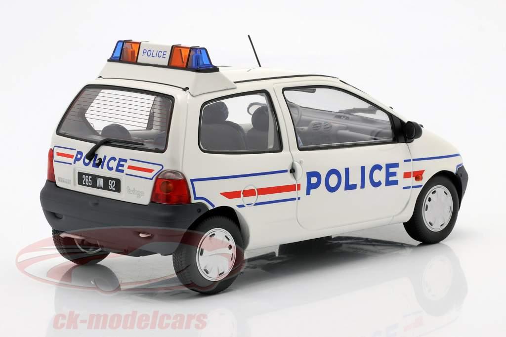 Renault Twingo polizia anno 1995 bianca / blu 1:18 Norev