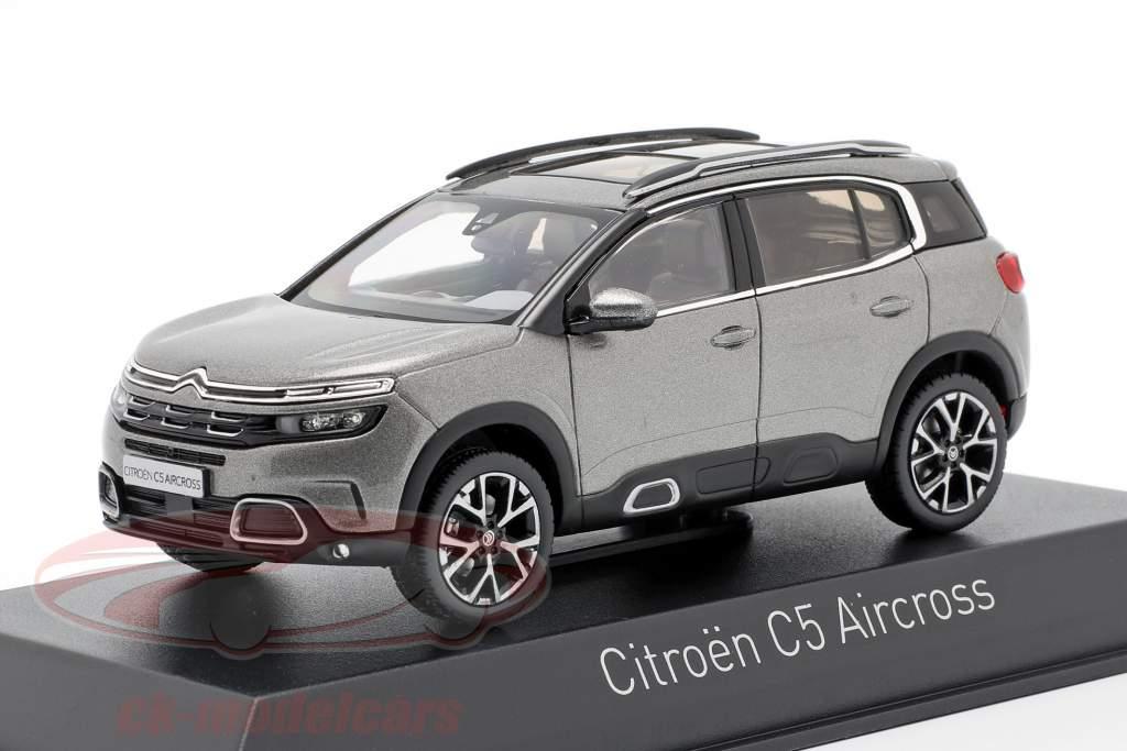 Citroen C5 Aircross år 2018 platin grå 1:43 Norev