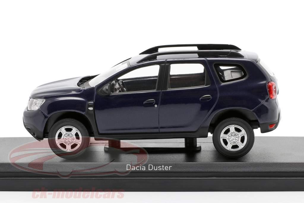 Dacia Duster Byggeår 2018 navy blå 1:43 Norev