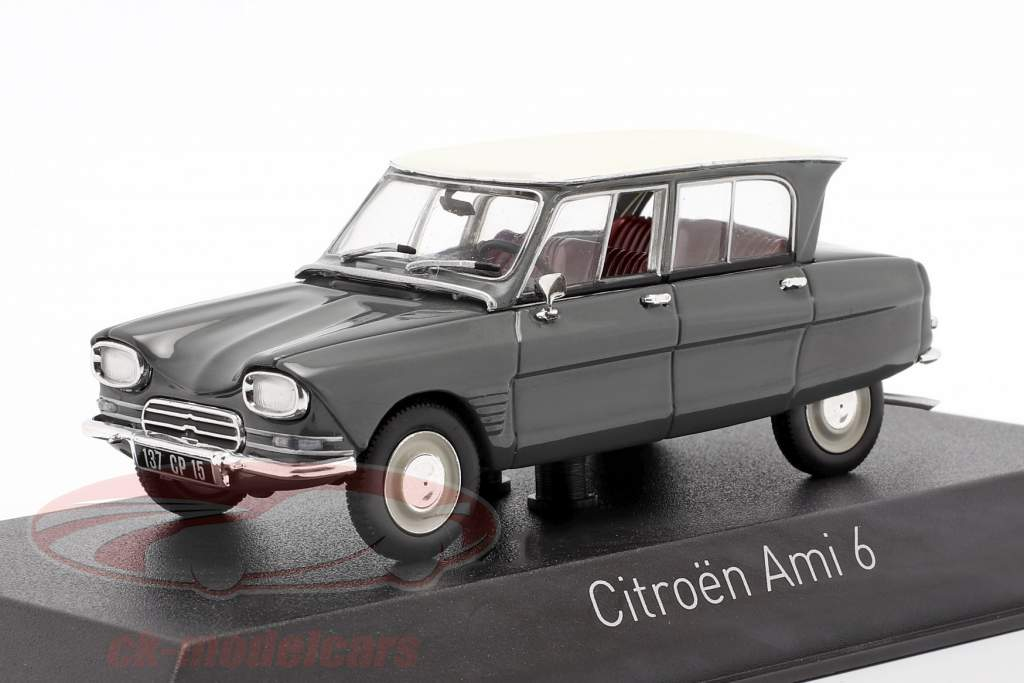 Citroen Ami 6 year 1967 grey 1:43 Norev