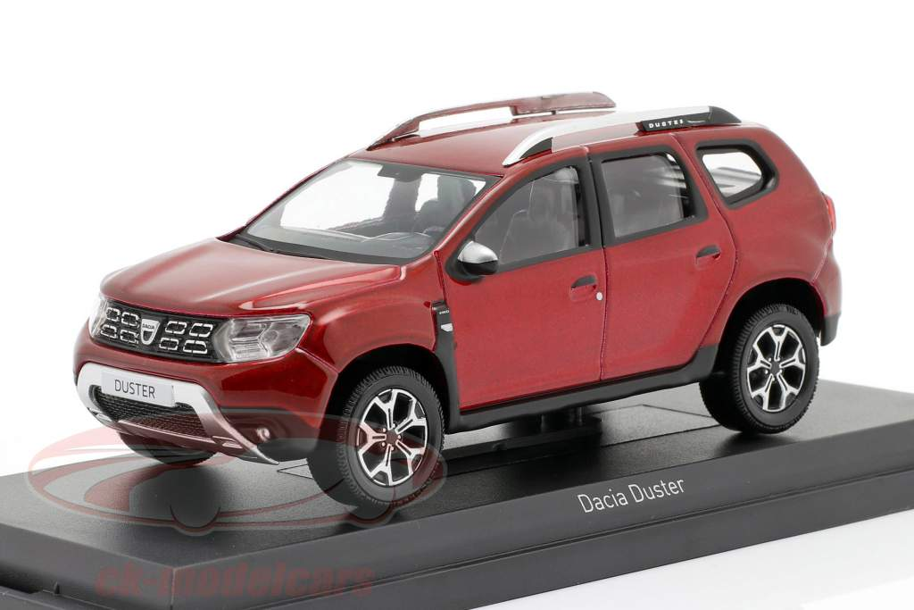 Dacia Duster year 2018 red 1:43 Norev