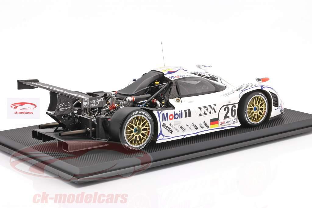 Porsche 911 GT1 #26 vinder 24h LeMans 1998 McNish, Aiello, Ortelli 1:8 Amalgam