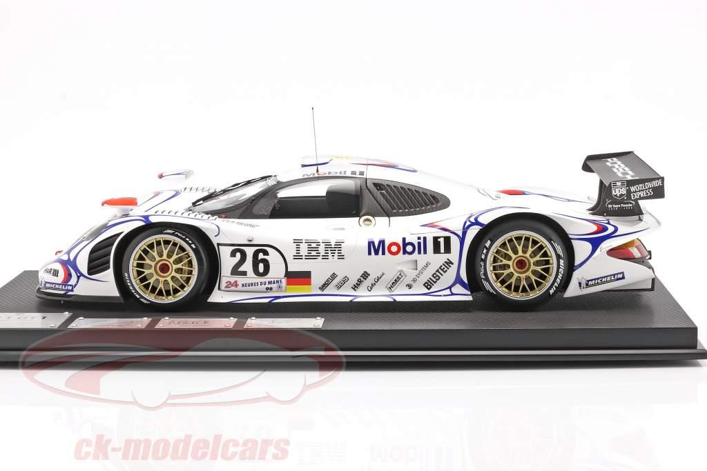 Porsche 911 GT1 #26 gagnant 24h LeMans 1998 McNish, Aiello, Ortelli 1:8 Amalgam