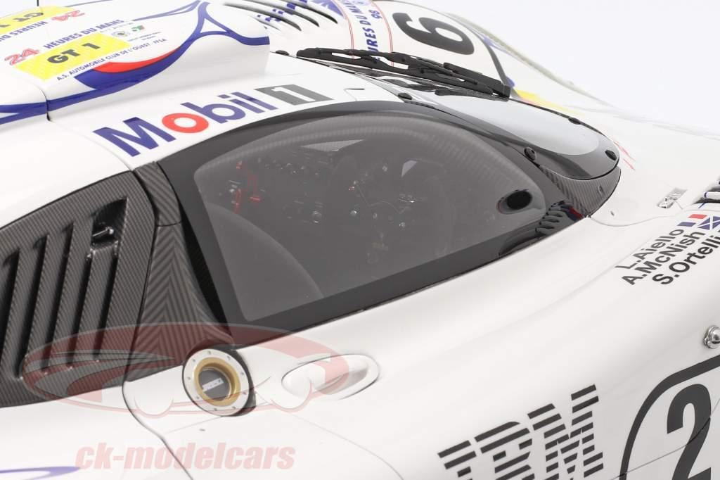 Porsche 911 GT1 #26 vincitore 24h LeMans 1998 McNish, Aiello, Ortelli 1:8 Amalgam