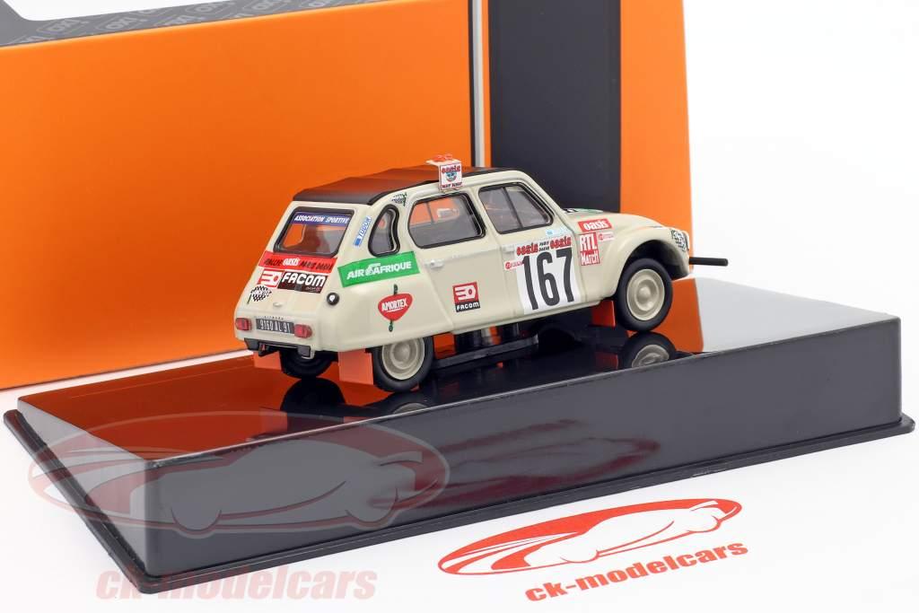 Citroen Dyane #167 Rallye Paris - Dakar 1979 Sandron, Alberto 1:43 Ixo