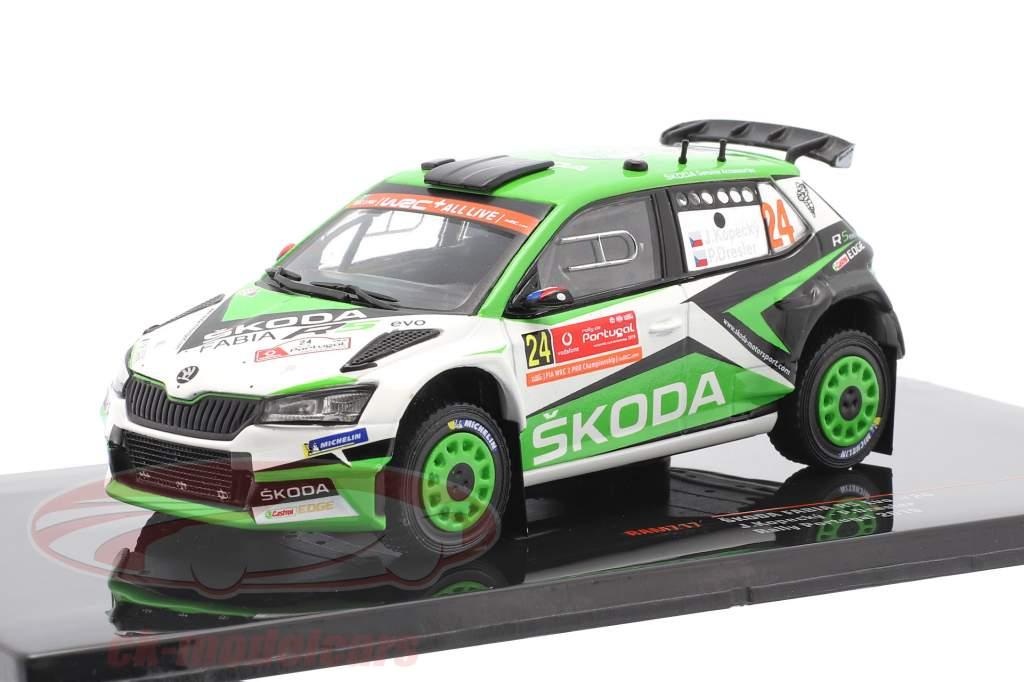 Skoda Fabia R5 Evo #24 8ème Rallye le Portugal 2019 Kopecky, Dresler 1:43 Ixo