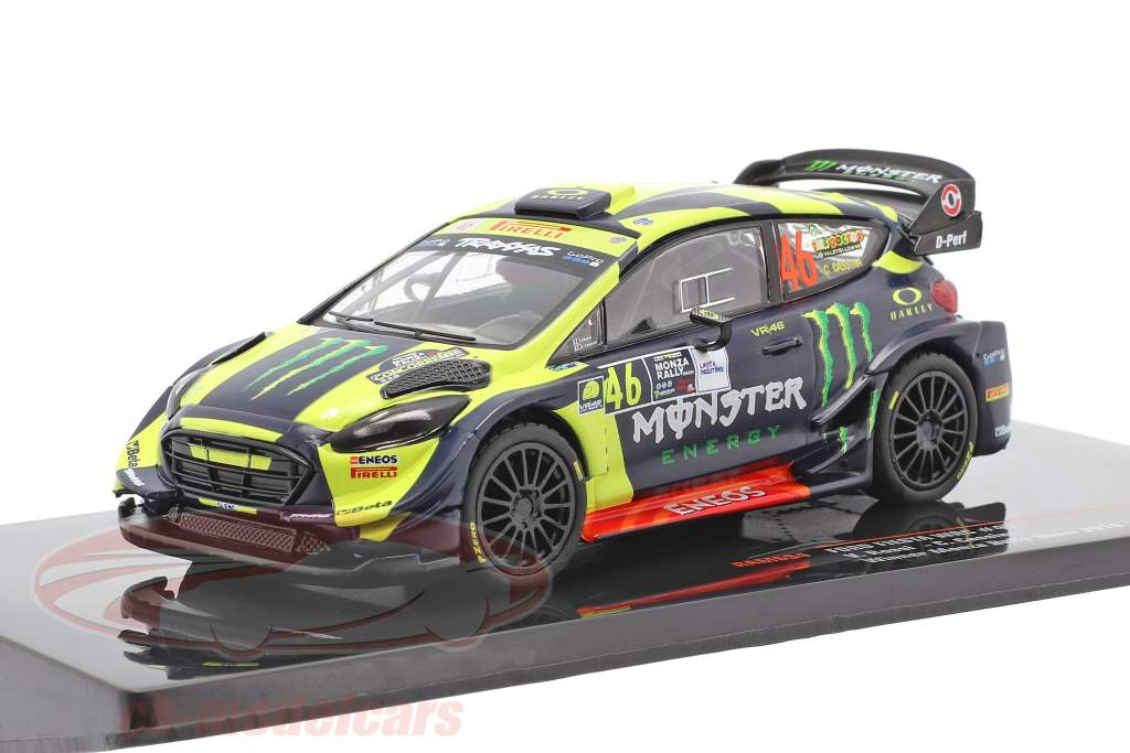 Ford Fiesta WRC #46 Sieger Monza Rallye Show 2018 Rossi, Cassina 1:43 Ixo