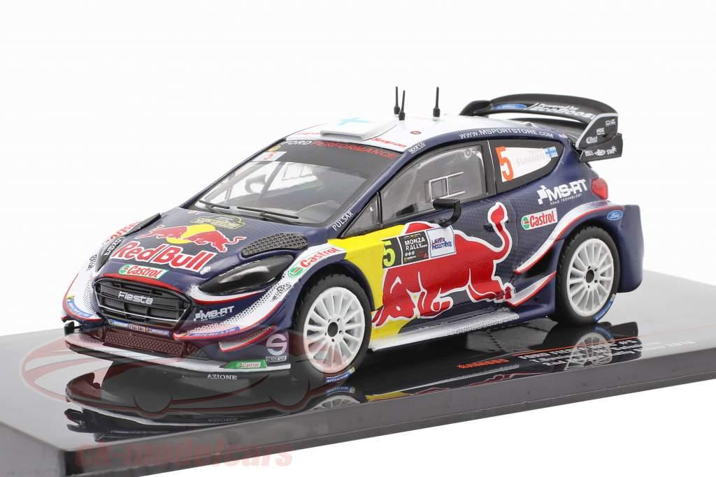 Ford Fiesta WRC #5 2. plads Monza Rallye Show 2018 Suninen, Salminen 1:43 Ixo