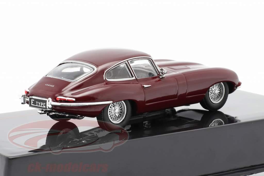 Jaguar E-Type Anno di costruzione 1963 buio rosso 1:43 Ixo