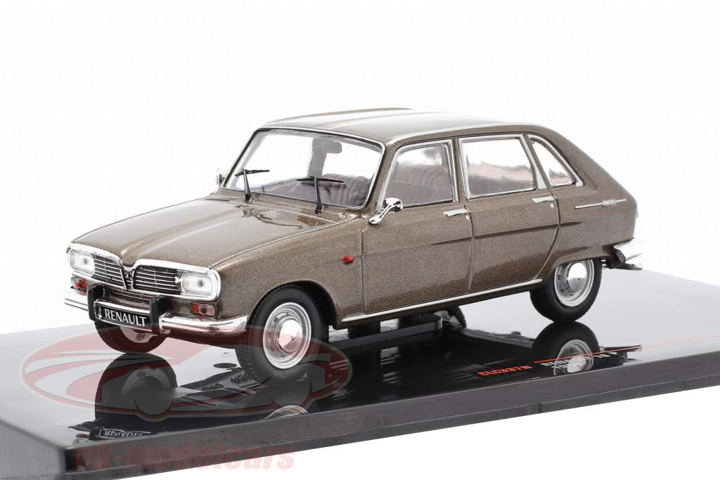 Renault 16 year 1969 brown metallic 1:43 Ixo