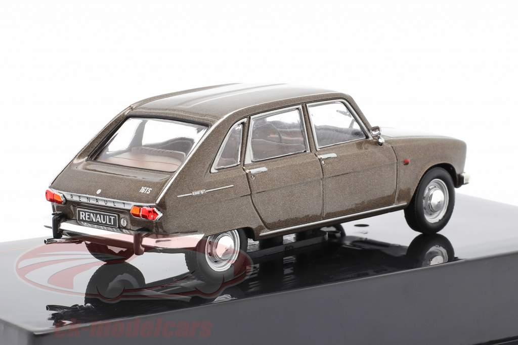 Renault 16 Anno di costruzione 1969 Marrone metallico 1:43 Ixo