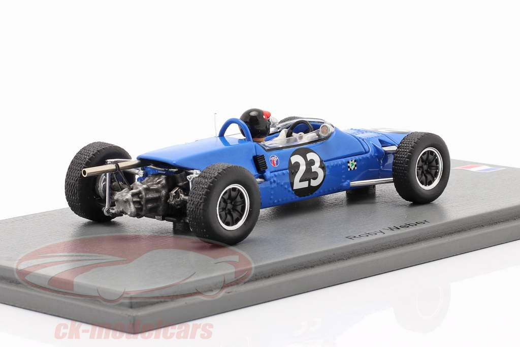 Roby Weber Matra MS5 #23 Vinder Coupe du Printemps F3 Nogaro 1967 1:43 Spark