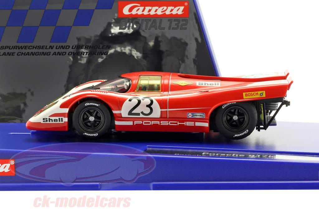 Digital 132 SlotCar Porsche 917K #23 vinder 24h LeMans 1970 1:32 Carrera