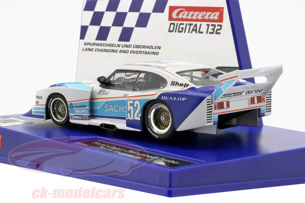 Digital 132 SlotCar Ford Capri Zakspeed Turbo #52 H. Ertl 1:32 Carrera
