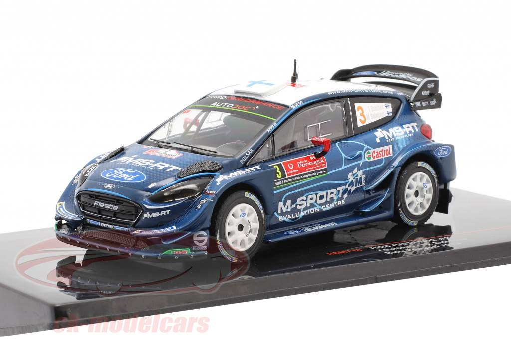 Ford Fiesta WRC #3 4º Rallye Portugal 2019 Suninen, Salminen 1:43 Ixo