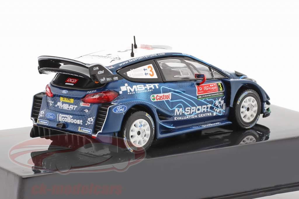 Ford Fiesta WRC #3 Cuarto Rallye Portugal 2019 Suninen, Salminen 1:43 Ixo