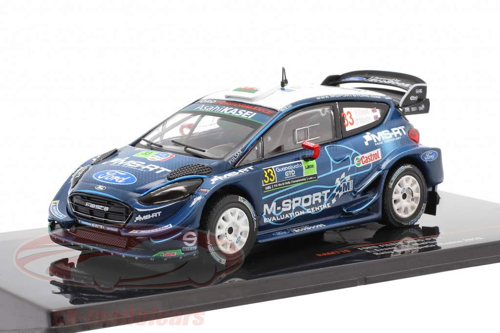 Ford Fiesta WRC #33 3e Rallye Guanajuato Mexico 2019 Evans, Martin 1:43 Ixo