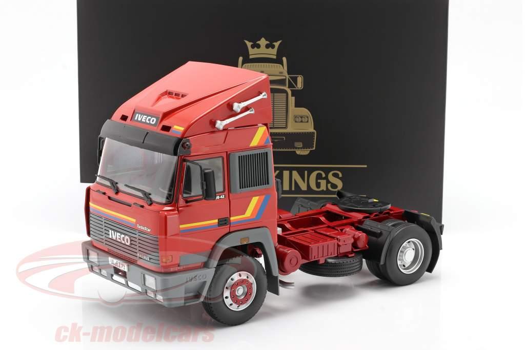 Iveco Turbo Star un camion Année de construction 1988 Orange 1:18 Road Kings