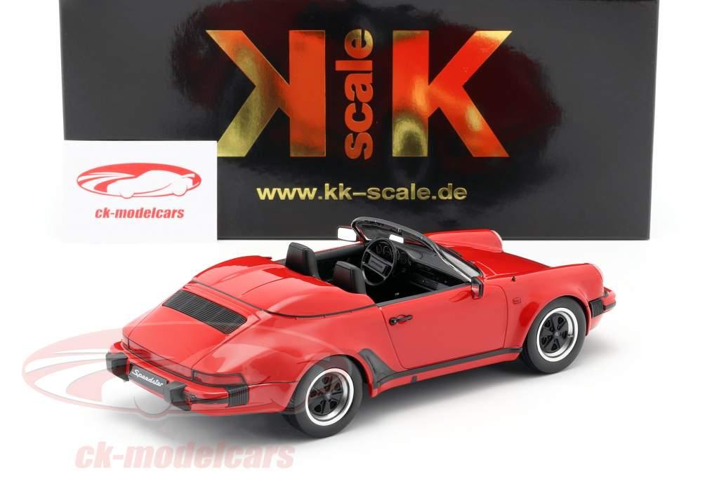 Porsche 911 Speedster Baujahr 1989 rot 1:18 KK-Scale