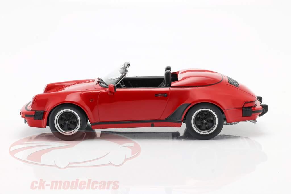 Porsche 911 Speedster Année de construction 1989 rouge 1:18 KK-Scale