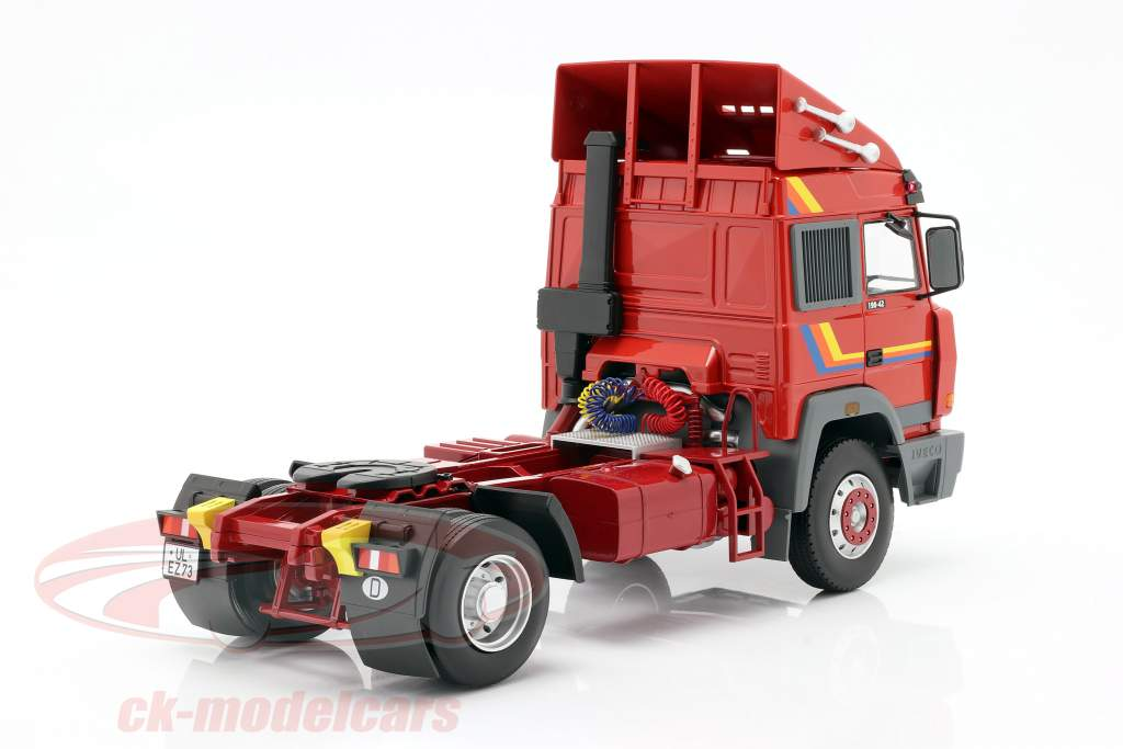 Iveco Turbo Star Camion Anno di costruzione 1988 arancia 1:18 Road Kings