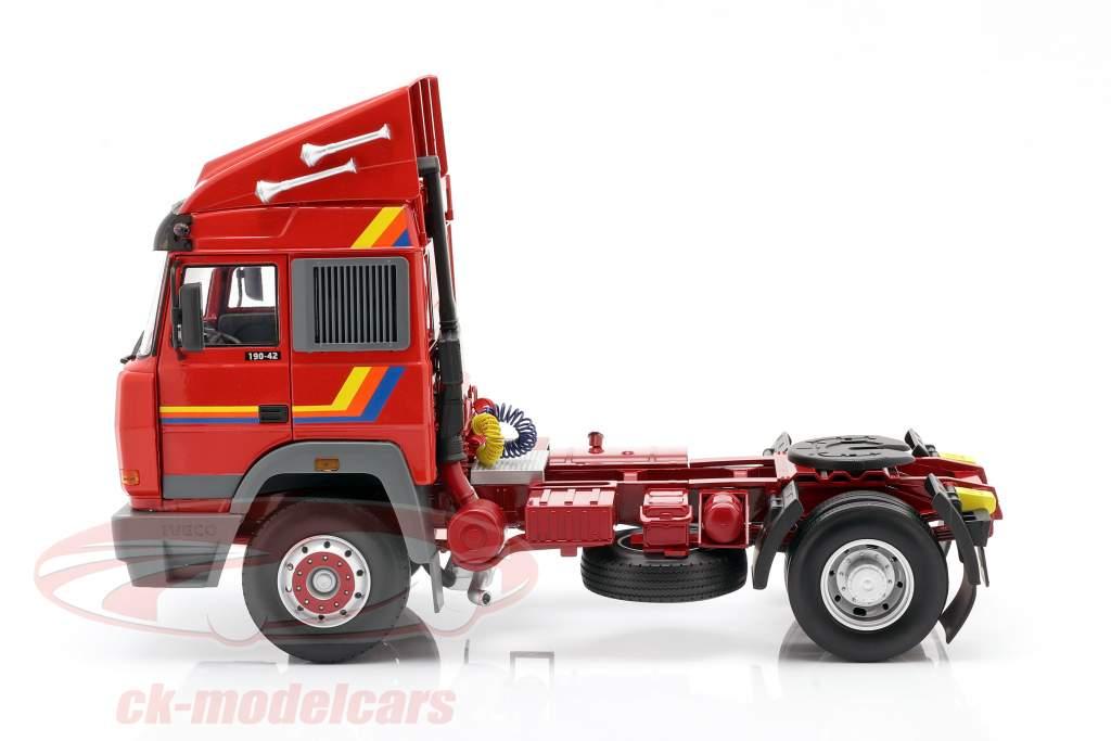 Iveco Turbo Star Caminhão Ano de construção 1988 laranja 1:18 Road Kings