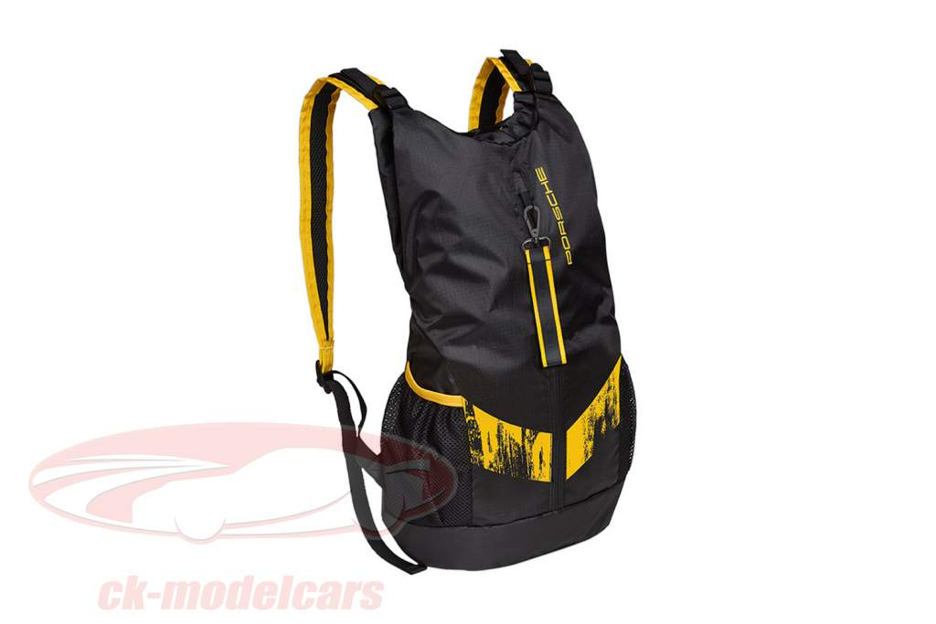 Backpack Porsche 718 Cayman GT4 Clubsport black / yellow