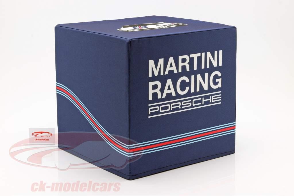 Cubo de assento Porsche Martini Racing azul