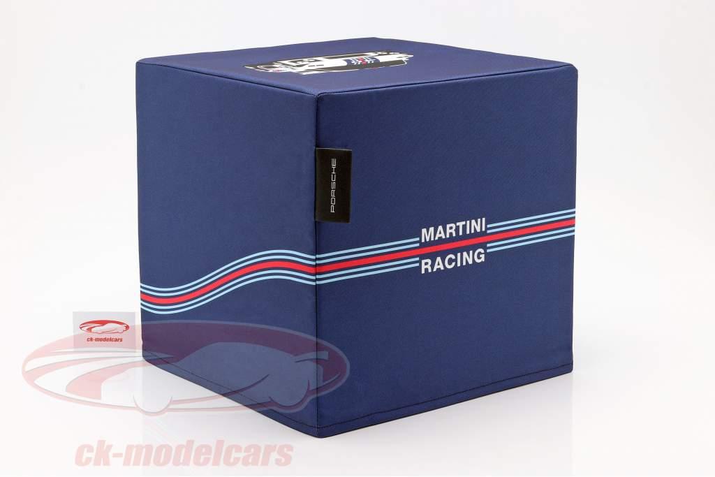 Cubo de asiento Porsche Martini Racing azul