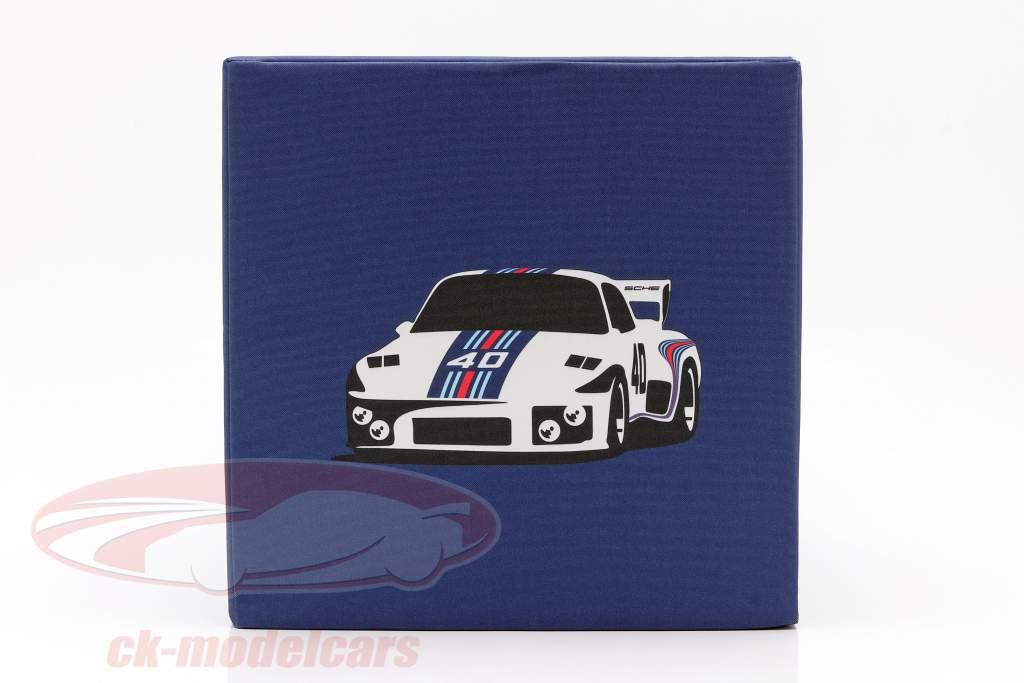 Cubo sedile Porsche Martini Racing blu