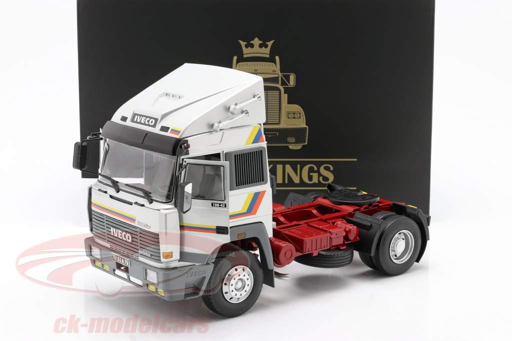 Iveco Turbo Star Truck Byggeår 1988 sølv 1:18 Road Kings