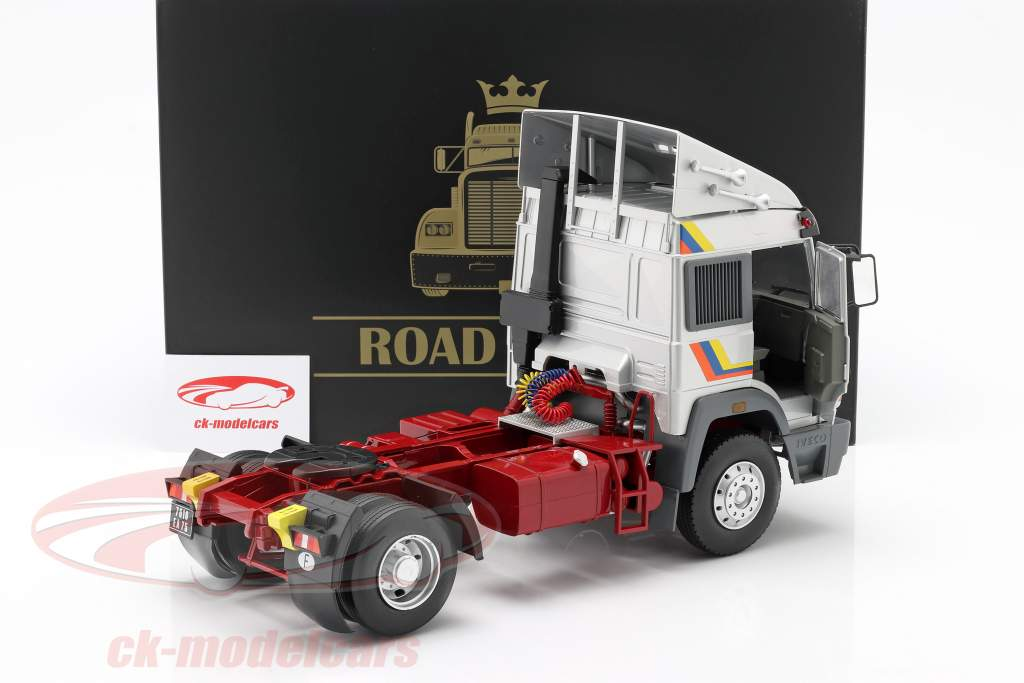 Iveco Turbo Star Truck year 1988 silver 1:18 Road Kings