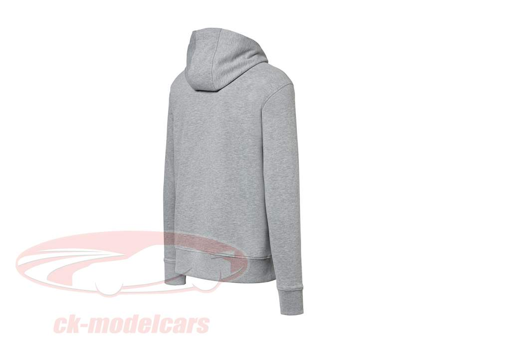 Hoodie Hashtag Porsche 944 Collection light gray / red