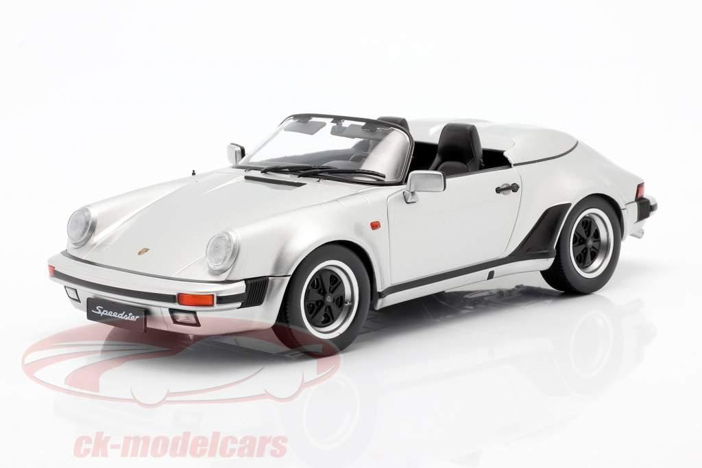 Porsche 911 Speedster Année de construction 1989 argent 1:18 KK-Scale