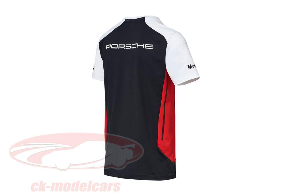 Functional T-shirt Porsche Motorsport black / white / red