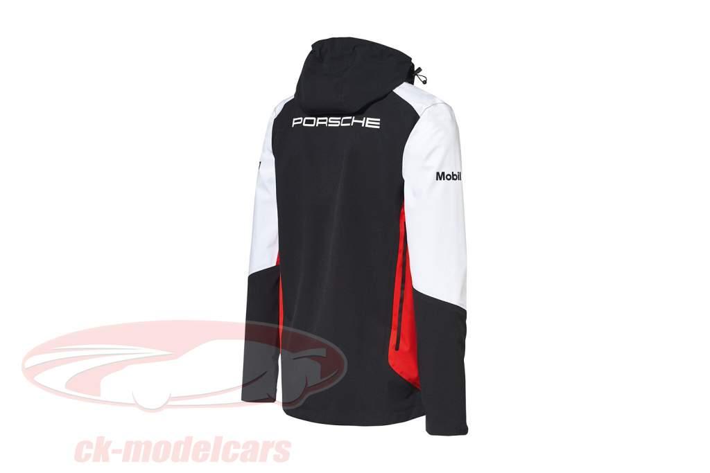 Windbreaker Porsche Motorsport Collection schwarz / weiß / rot
