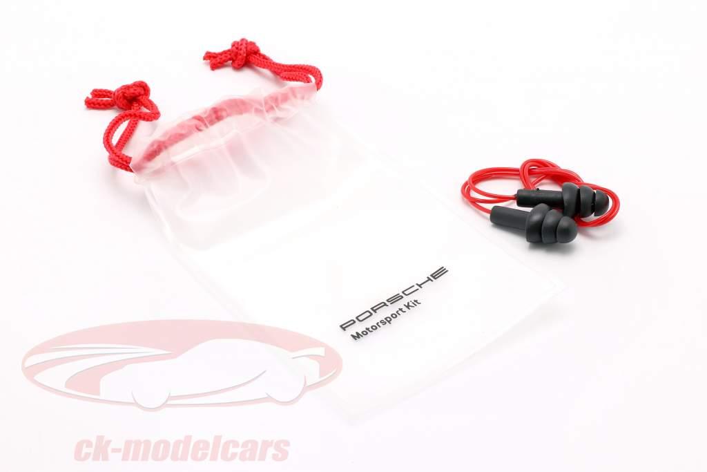 Softshell-Jacke Porsche Motorsport Collection schwarz / weiß / rot