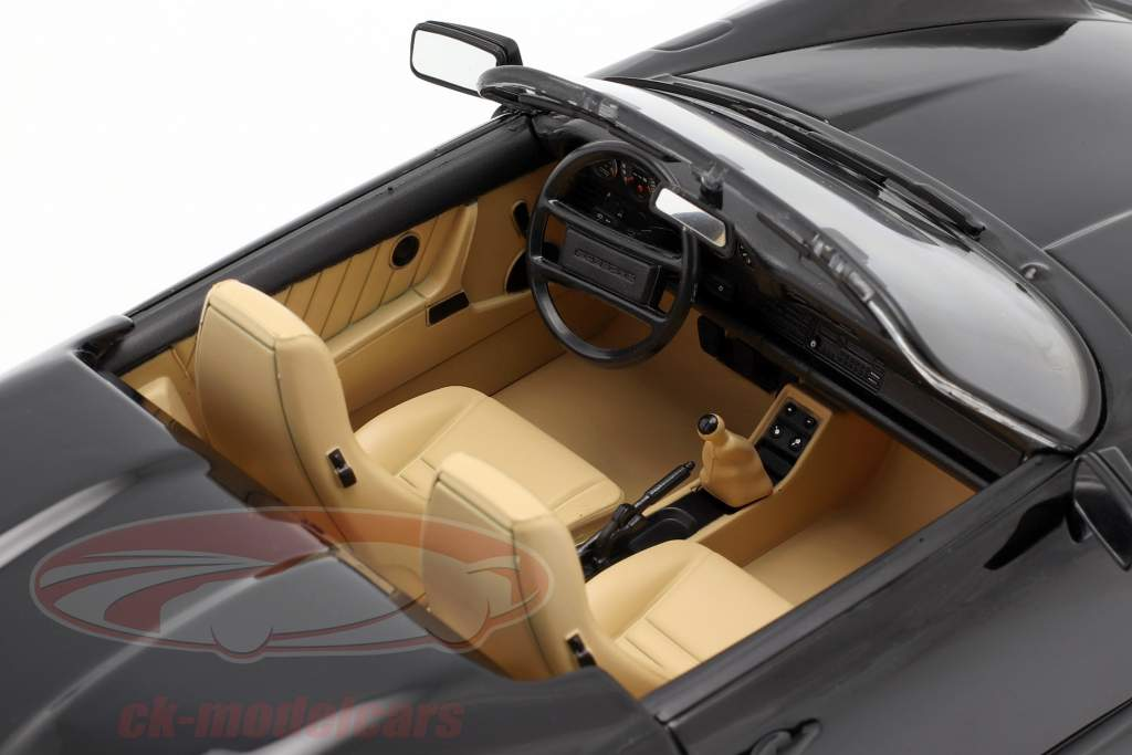 Porsche 911 Speedster Anno di costruzione 1989 nero 1:18 KK-Scale