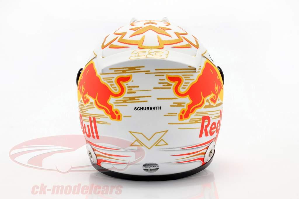 Max Verstappen #33 Aston Martin Red Bull Racing formel 1 2020 hjelm 1:2 Schuberth