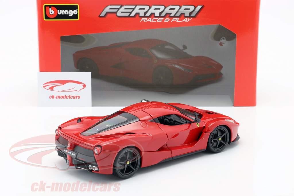 Ferrari LaFerrari rød 1:18 Bburago