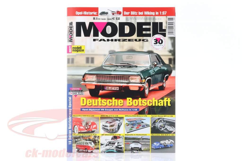 Modell Fahrzeug - magasin produktion November december 06 / 2020